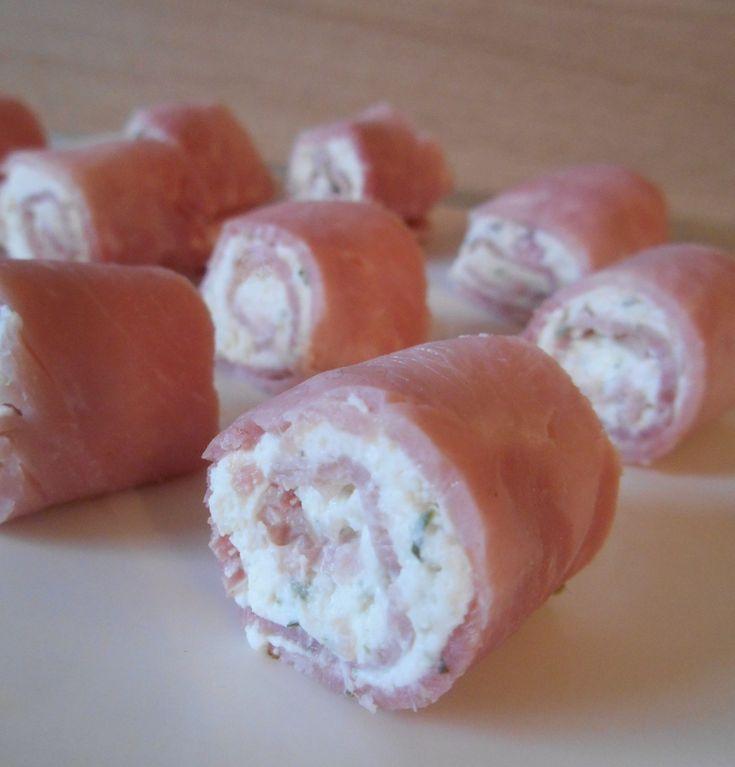 Jambon roulé apéritif au boursin ®