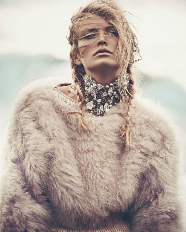 Reina de las Nieves by Andreas Ortner for Vogue Spain November 2014