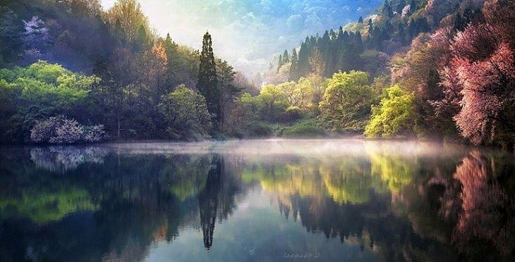 Lago Seryan, Coreia do Sul