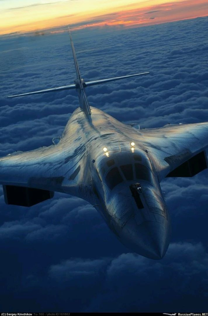 Fotka: Russian Supersonic Bomber Tupolev TU~160