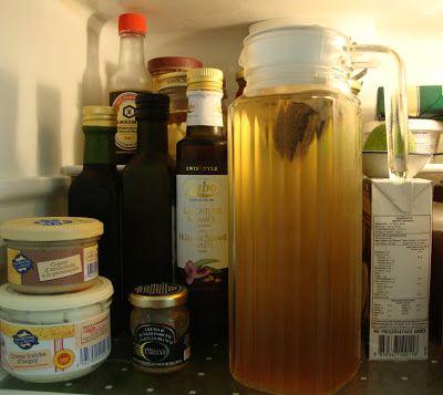 Kalt aufgegossener Tee