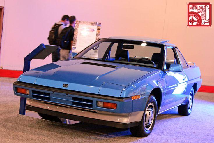 Restored '86 Subaru XT Alcyone