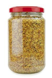 Kombucha Mustard - Fermented Mustard (substitute sauerkraut brine for whey and it's delicious)