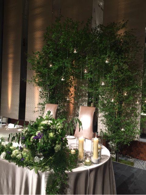 都会の森のwedding の画像|Wedding &Party Designerの黒沢祐子