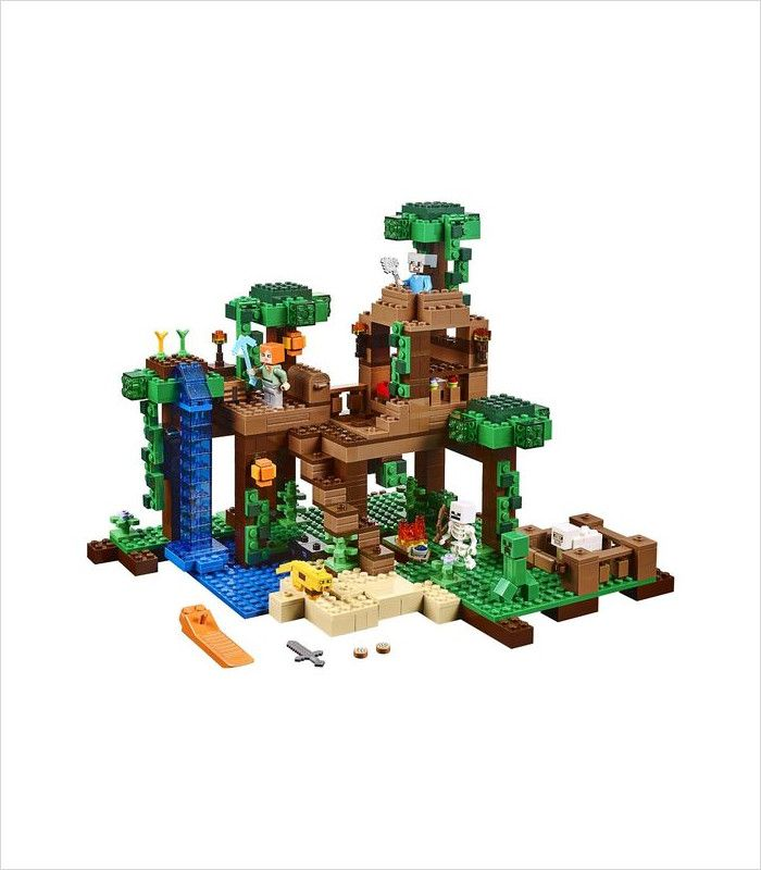 Coolest LEGO sets for kids - LEGO Minecraft The Jungle Tree House