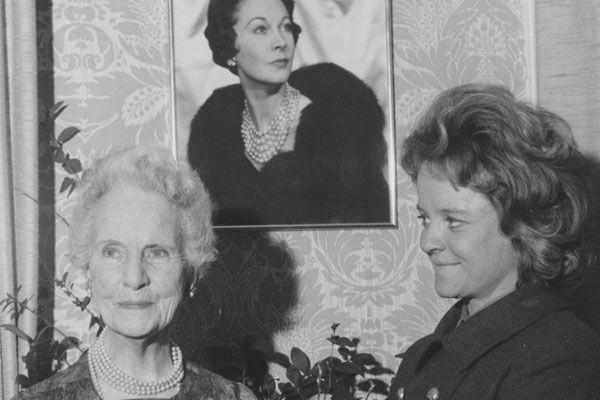 Gertrude Hartley and Suzanne farrington