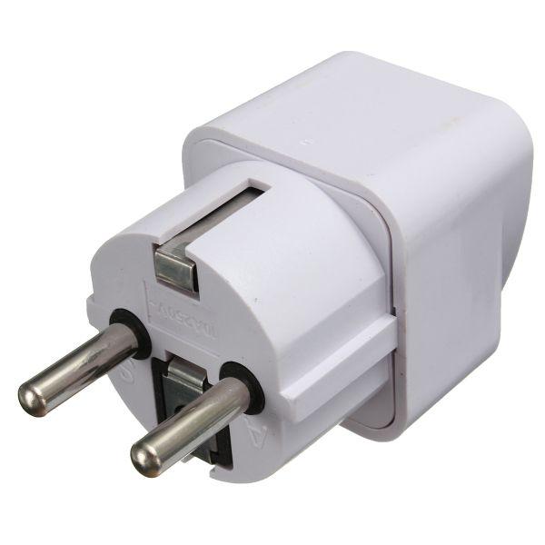 Universal US/UK/AU To EU AC Power Adapter 2 Pin Travel Converter Adapter Socket Charger