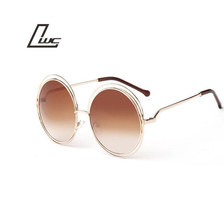 2016 Retro Round Women Sunglasses Fashion Brand Designer Vintage Ladies Sun Glasses for Women Glasses Oculos De Sol Female #jewelry, #women, #men, #hats, #watches, #belts