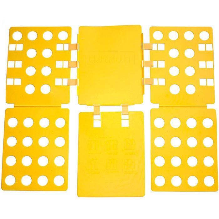 Felji 4th Generation Adult Flip Fold Shirt Folding Board Yellow