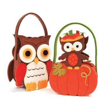 Fall Felt Bags - 30% Off Fall and Halloween Sale - Promotions