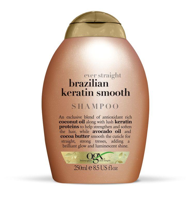 Shampoing doux Brésilien à la Kératine Mode d'emploi… Appliquer généreusement le shampooing sur les cheveux mouillés, masser du cuir chevelu aux pointes puis rincer abondamment vos cheveux. Après le shampooing, appliquer l'après-shampooing. Précautions : En cas de contact avec les yeux, rincer à l'eau. Pour de meilleurs résultats, combiner avec d'autres produits OGX.