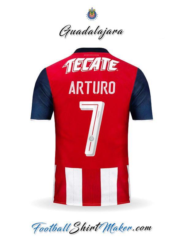 Crear Camiseta de Guadalajara 2016/2017 con tu Nombre y Numero