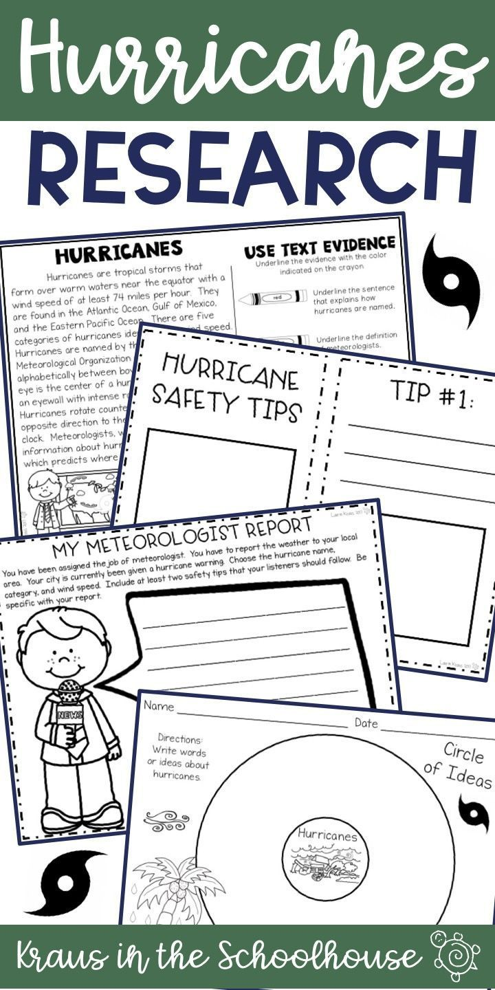 Hurricane Awareness And Safety Tips Are Important For Elementary Students To Have A Better Reading Graphic Organizers Hurricanes Activities Writing Activities
