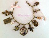 Collana in vetro di macarons bottiglia collana di Maraviglie