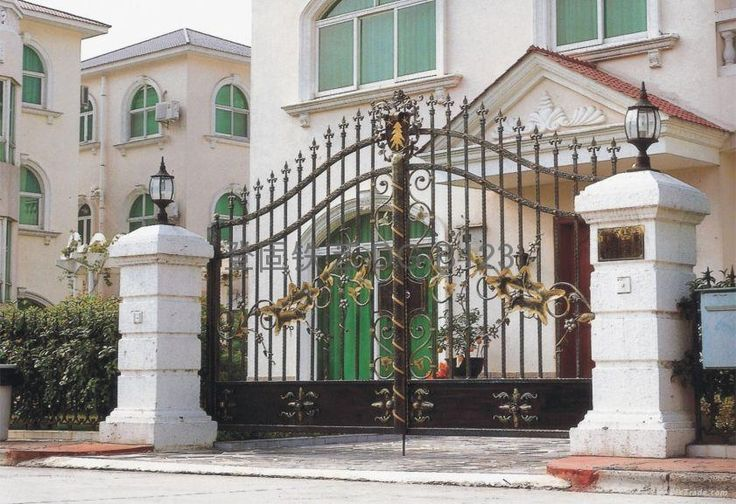 17 Best Ideas About Wrought Iron Gate Designs On Pinterest