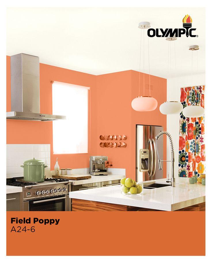 17 Best Images About Orange Paint Colors On Pinterest