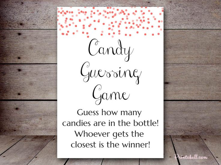 editable confetti color baby shower game candy guessing game baby shower game printables. Black Bedroom Furniture Sets. Home Design Ideas