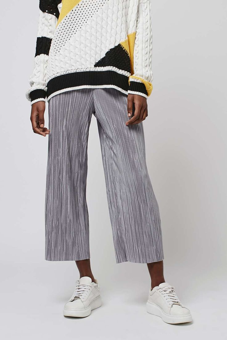 Pleat Trousers - Clothing- Topshop