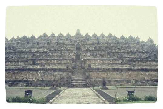 Temple borobudur, yogyakarta