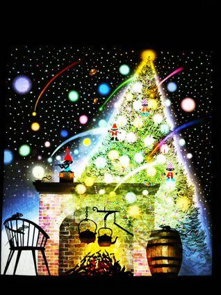 藤城清治 クリスマス - Google 検索