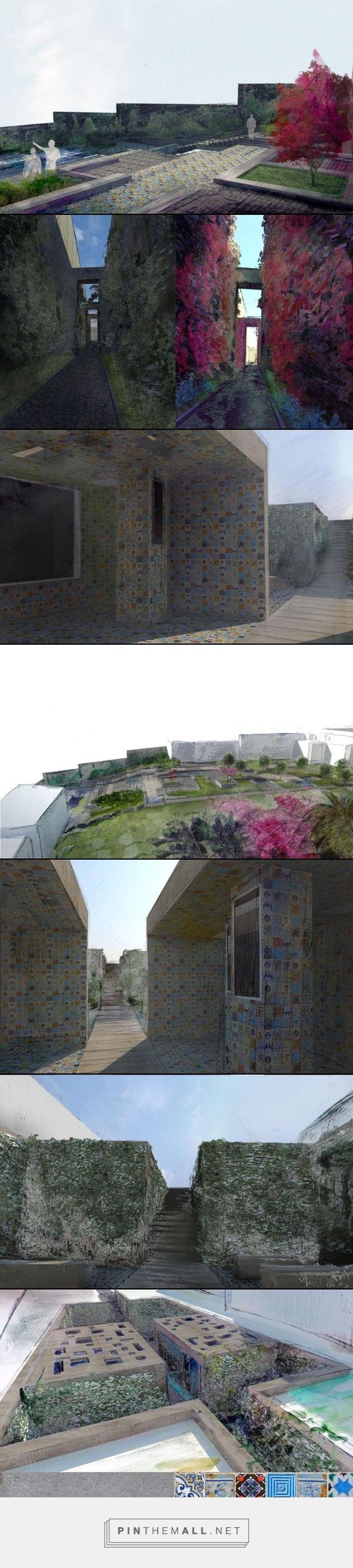 Projekt ogródu w Lizbonie