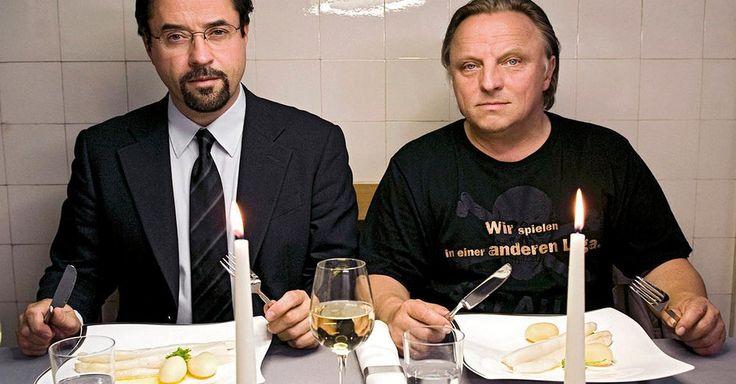 """Focus.de - Zum 50. von Jan Josef Liefers: 50 bissige """"Tatort""""-Wortgefechte von Boerne und Thiel - Boerne Thiel Wortgefechte"""