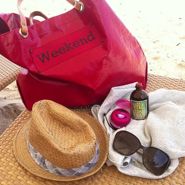 .@Cess Joson | Beach essentials #chicify #WeekendTote #RealTan #XMini #ajkdwedding