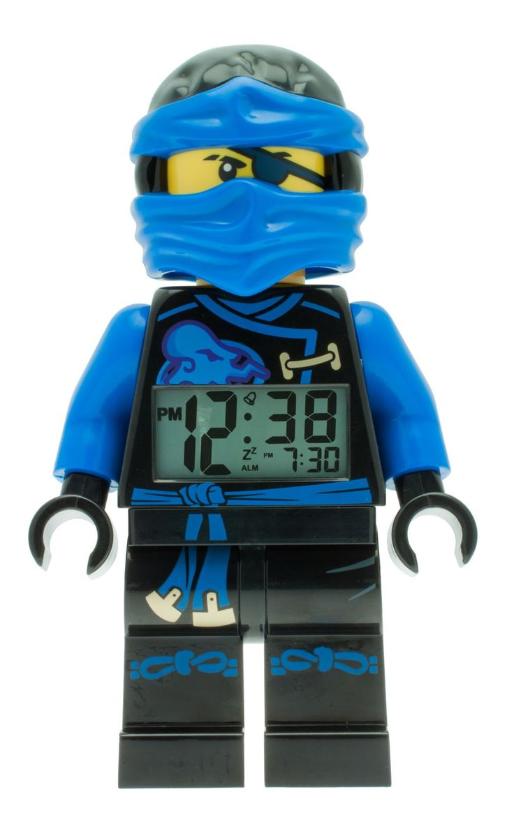 Lego Ninjago Jay Wecker Digitalwecker Alarm 9009433, Beleuchtung, Tagesalarm, Schlummerfunktion, Höhe ca. 25 cm, bewegliche Gelenke, lauter Piepton, blaue Display-Hintergrundbeleuchtung  http://www.uhren-versand-herne.de/lego-ninjago-jay-wecker-digitalwecker-alarm-9009433.html