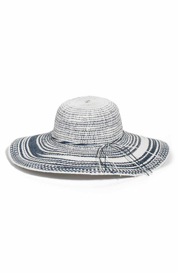 Main Image - Caslon® Floppy Straw Hat