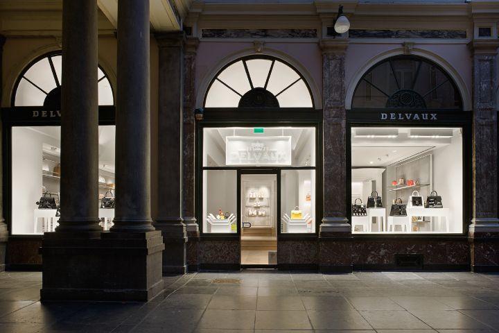 The Delvaux boutique at the Galerie de la Reine in Brussels