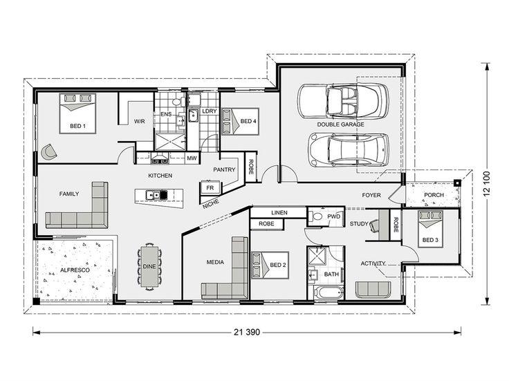 127 best house plan images on pinterest house design for Gladstone builders