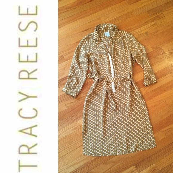 100% Silk Tracy Reese Dress Beautiful dress! In like new condition Tracy Reese Dresses