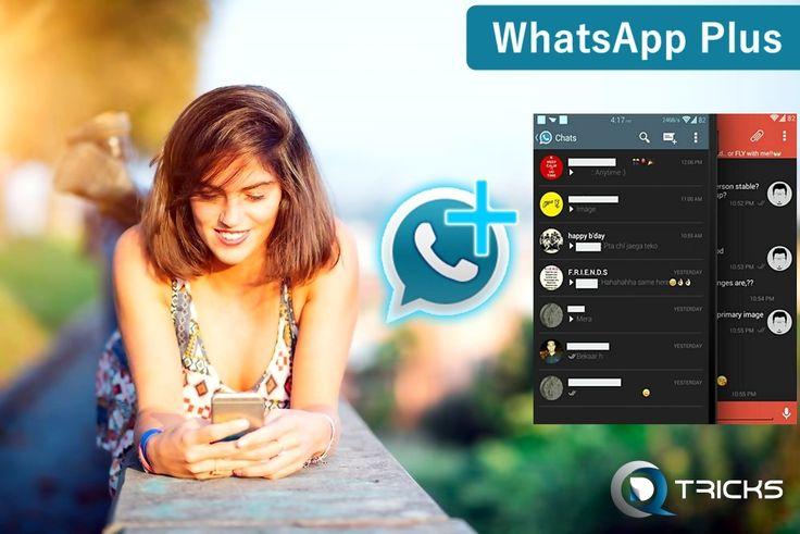 Download and install WhatsApp Plus apk latest version for free. Get working WhatsApp Plus apk for android without root.