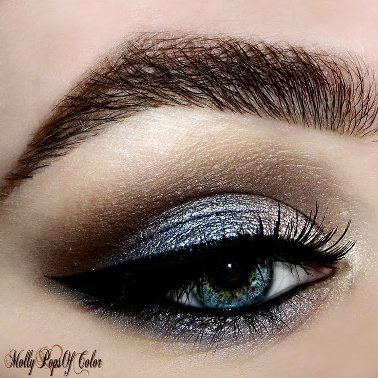 Feast your eyes on this glitzy creation by Molly A. Unveil a new look on your night out by clicking through.
