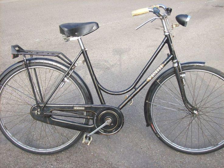 bicicletta da donna con freni a bacchetta