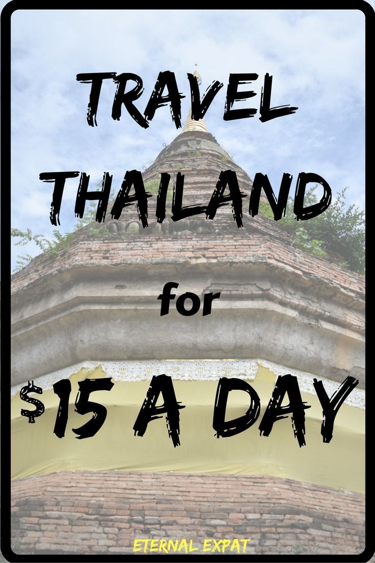 How to Travel Thailand for less than $15 a day | Budget Travel in Thailand…
