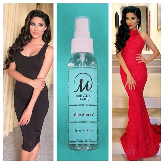 65 best leyla milani hair products and wet line images on introducing the newest member of the milani hair family glossilocks our first spray laminate pmusecretfo Gallery