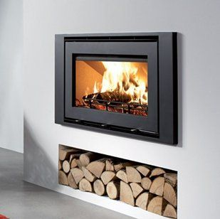 contemporary wood burning stoves - Google Search