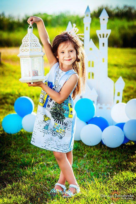 Принцесса Самира. Детская тематическая фотосессия. Фотограф, декорации: Олеся Дороженко.