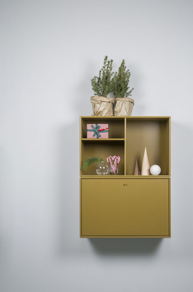Write Christmas cards for your loved ones. WRITE is the shelving module that can transform from a closed cabinet into a desk. #montana #furniture #danish #design #desk #cabinet #storage #shelving #homeoffice
