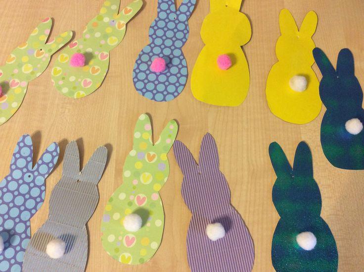 #easter #decor #bunny #пасха #гирлянда #поделки
