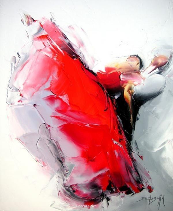 Daniel Densborn 油画作品欣赏