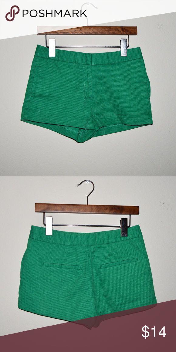 ZARA SHORTS Green Zara shorts in perfect condition! Zara Shorts