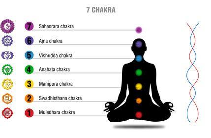 7 Chakren: Die Hauptchakren sind Verbindungstore zu unseren Energiekörpern – Bedeutung und Eigenschaften (Farben, Edelsteine, Symbole etc.) der sieben Chakren.