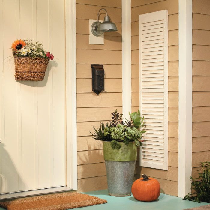 Window Shutter Outdoor Accent
