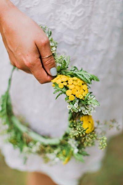 DIY : Créer une couronne de fleurs