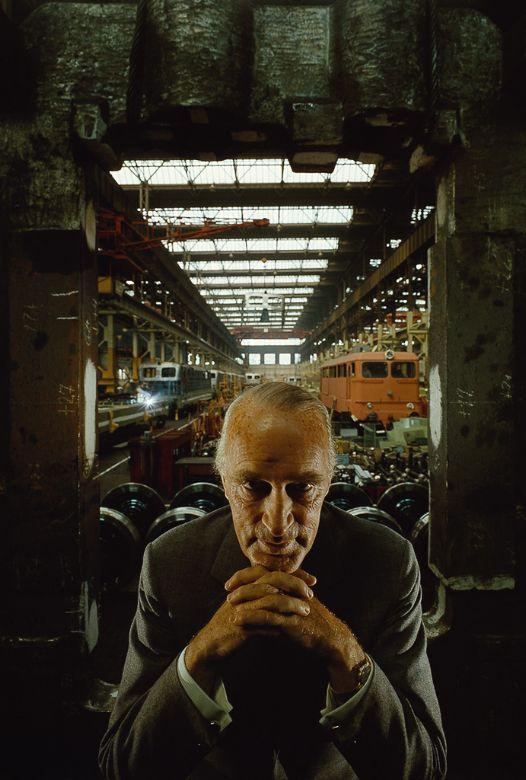 Арнольд Ньюман (Arnold Newman): Классический портрет в интерьере | Стань фотографом! | Стань фотографом!