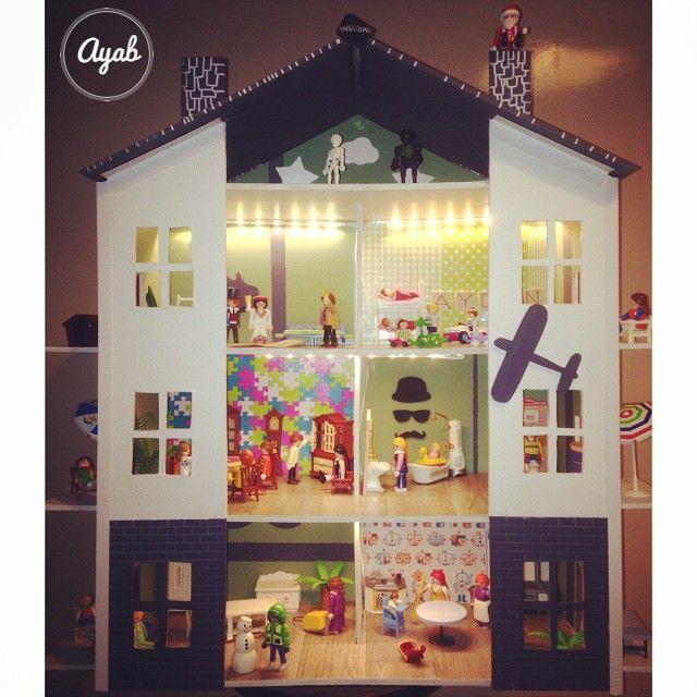 Las 25 mejores ideas sobre playmobil garcon en pinterest y for Amorce maison pour gardon