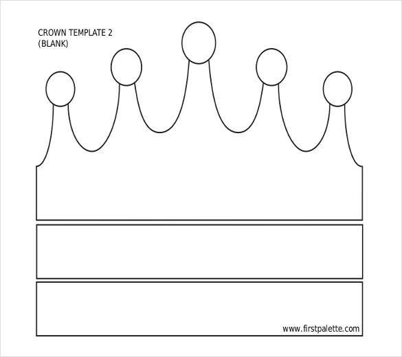 21 Paper Crown Templates Pdf Doc Crown Template Crown