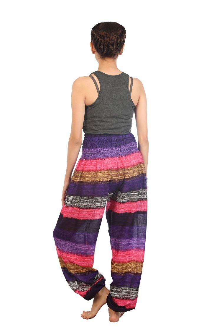 Thai Womens Yoga Pants Harem Trousers Festival Baggy Hippie Boho Alibaba Hareem